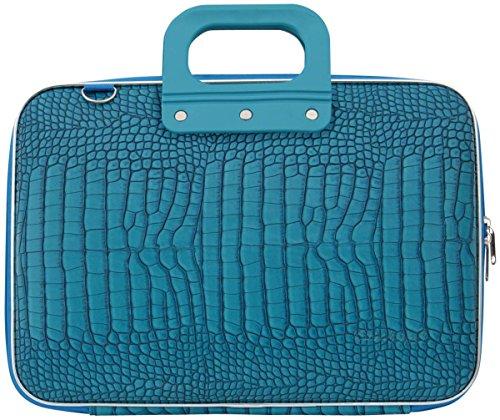 bombata-croc-13-inch-laptop-bag-turquoise