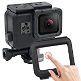 Diving Waterproof Case for GoPro Hero 6 Hero 5 2018 Black Accessories Diving Protective Housing With An Extra Touchable Back Door