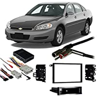 Fits Chevy Impala 2000-2005 Double DIN Stereo Harness Radio Install Dash Kit