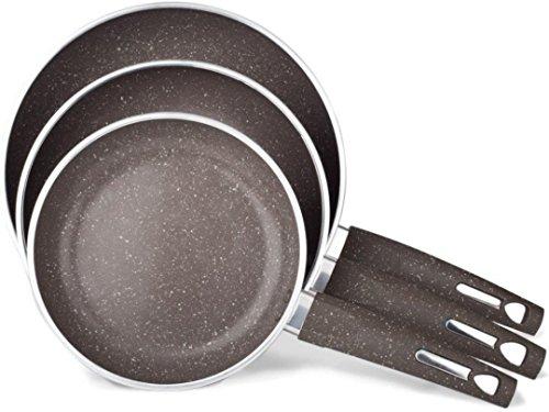 3 frying pans - 2