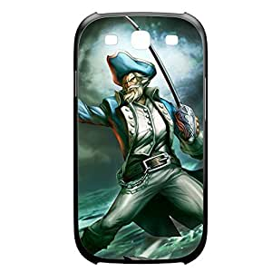 Gangplank-003 League of Legends LoL Diy For LG G2 Case Cover Plastic Black