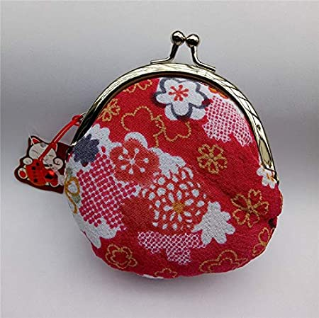 Amazon.com: 1 pc Japanese Style,Lucky cat Coin Purse,Coin ...