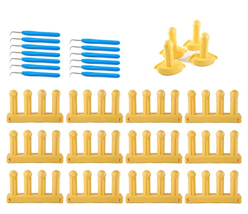 Authentic Knitting Board KB6012 Zippy Looms, Bulk connectable 13 Piece by Authentic Knitting Board (Image #2)