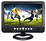 "QFX TV-1010 10"" Portable Rechargeable 1080P LCD TV"