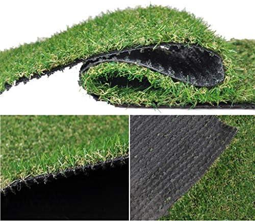 YNFNGXU 合成人工芝芝生高さ20mm、高密度ホリデー芝生自然のリアルガーデン活動会場芝生(秋草) (Size : 2x4m)