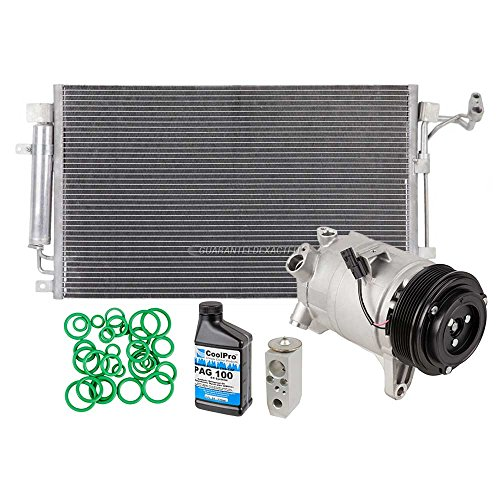 Nissan Maxima Clutch (New AC Compressor & Clutch With Complete A/C Repair Kit For Nissan Maxima - BuyAutoParts 60-82653R6 New)