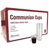 Communion Cups - Premium Disposable - Fits Standard Holy Communion Trays 1-3/8-inch (6000)