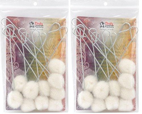 Wool Daubers (Tandy Leather Factory Wool Daubers - 20)