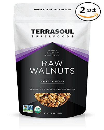 Terrasoul Superfoods Organic Raw Walnuts