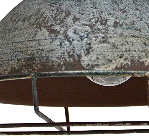 LED Solar Außen Hänge Pendel Leuchte Garten Laterne Gitter Balkon Lampe antik schwarz Harms 507252