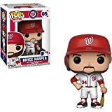 Funko Bryce Harper [Washington Nationals]: x POP! MLB Vinyl Figure + 1 Official MLB Trading Card Bundle [#005 / 30221]
