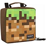 JINX Minecraft Dirt Block Insulated Kids School Lunch Box for Boys, Girls, Kids,
