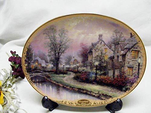 Judys Home Delights Thomas Kinkade Lamplight Lane Collector ()