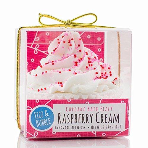 (Fizz & Bubble Natural Raspberry Cream Cupcake Bath Fizzy)