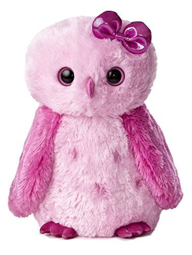 Aurora World Girlz Nation Plush, Pink Snowy Owl