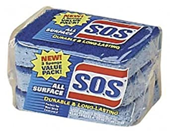 S.O.S 91028 All Surface Scrubber Sponge