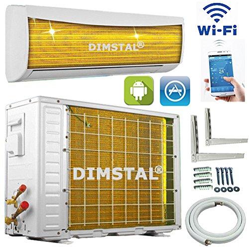 A++/A+ WiFi WLAN Golden-Fin 24000 BTU 7 kW Split Klimaanlage ...
