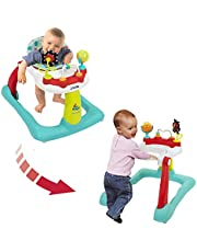 Kolcraft Tiny Steps Too Baby & Toddler Walker - Seated or Walk-Behind
