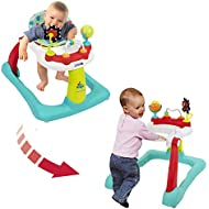 Kolcraft Tiny Steps 2-in-1 Activity Walker -Seated or...