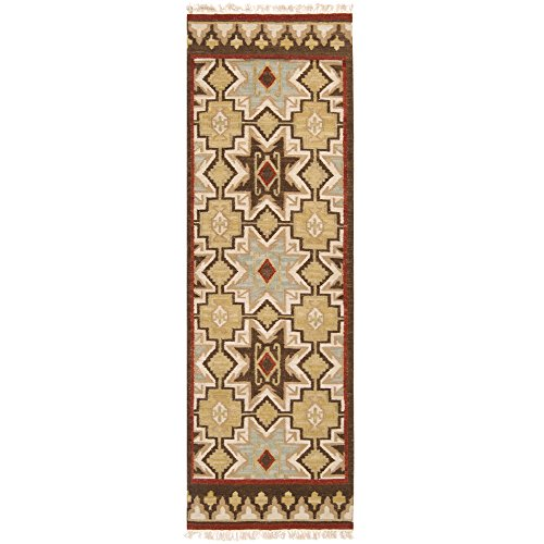 Surya Jewel Tone II JTII-2034 Transitional Hand Woven 100% Hard Twist Wool Bone 2'6