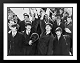 beatles in new york - The Beatles in New York City - 1964 Large 25x29 Framed and Double Matted Photo