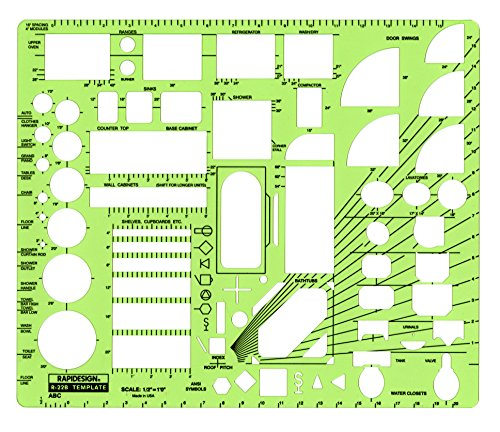 Rapidesign Architect Drawing Template R22B product image