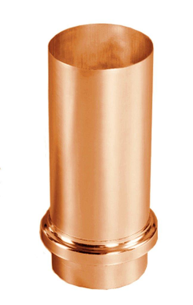 Rohrschellen mit 140 mm Einschlagstift Kupfer f/ür Regenrohre in den Gr/ö/ßen 60 76 87 und 100 mm 80 76 mm