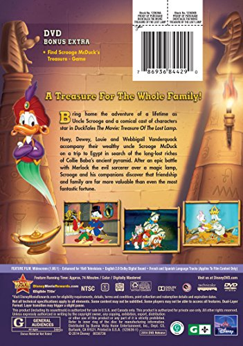 DuckTales The Movie: Treasure Of The Lost Lamp | DVD in the UAE ...