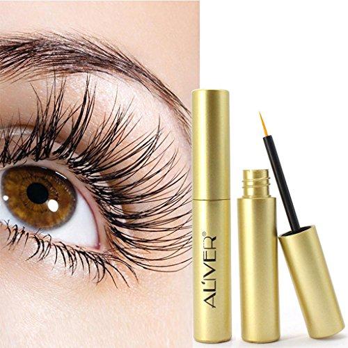 Putars Women Sexy Most Effective Eyelash Growth Serum Oil Natural Extract Yellow 3ml