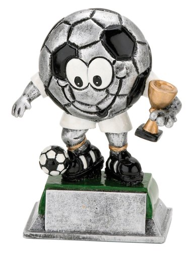 S.B.J - Sportland - Trofeo para fútbol (aprox. 12 cm)