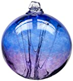 Kitras Witch Ball, Cobalt/Amethyst