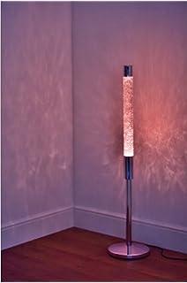 Silver Stunning Glitter Lava Lamp