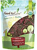 Organic Dried Red Dragon Fruit, Pitahaya by Food to Live (Non-GMO, Kosher, Unsweetened, Unsulfured, Healthy Snack, Bulk) 8 Ounces