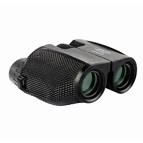 AmYin Foldable Compact Binoculars 10X25 Great for Travel and Concerts