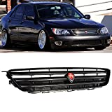 Grille Fits 2001-2005 Lexus IS300 IS200 Jce2010 | Altezza style ABS Plastic Black Front Bumper Grill Hood Mesh by IKON MOTORSPORTS | 2002 2003 2004