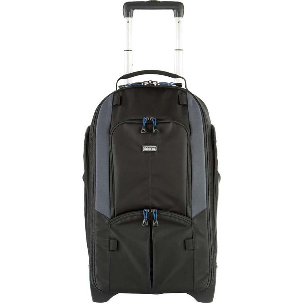 Think Tank Streetwalker Rolling Backpack V 2.0 Fotorucksack//-Trolley f/ür 2 DSLRs mit angesetztem Objektiv 1 Blitz 5 Wechselobjektive 1 Stativ 1 Laptop