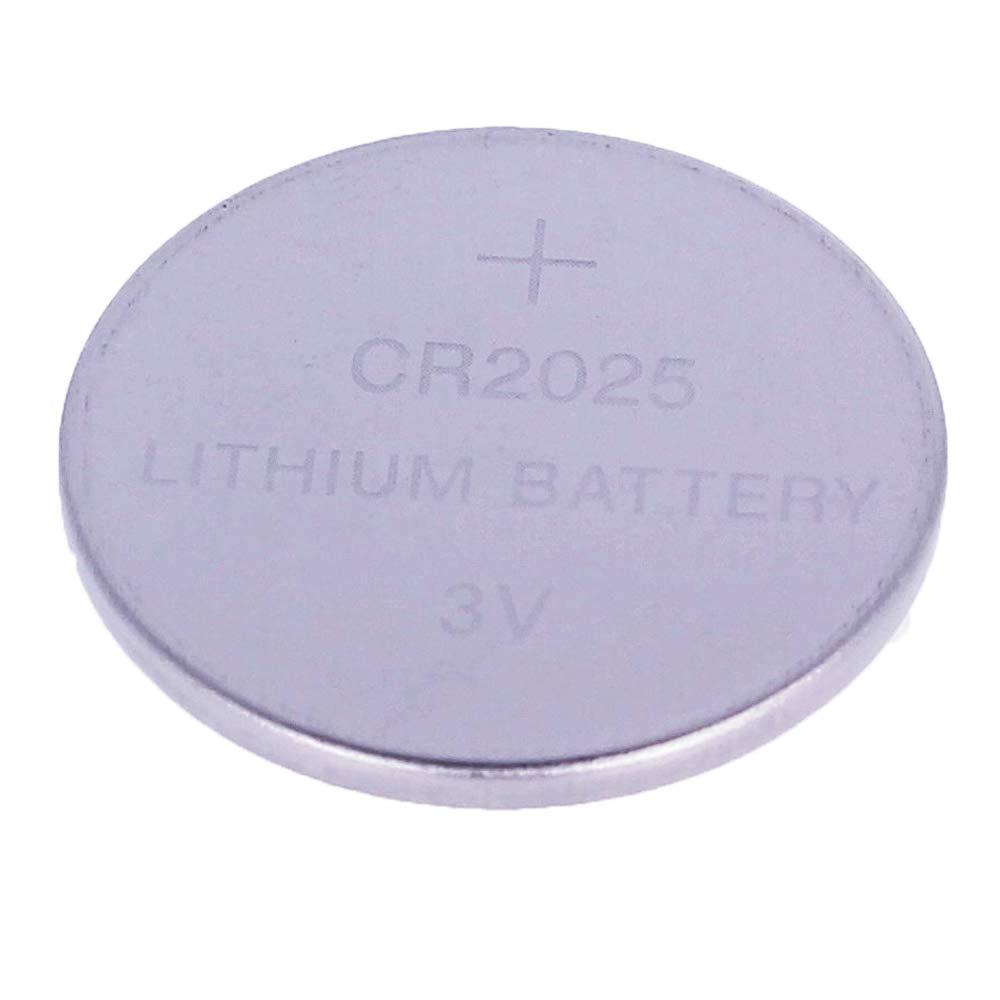 Pack de 6 Pilas CR2025 3V Alcalinas, Tipo Botón de Litio en Blister, Electrónica Rey®: Amazon.es: Electrónica