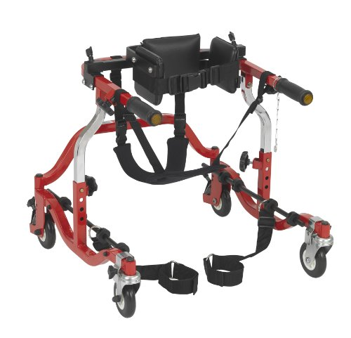 - CO2200 - Drive Medical Comet Anterior Gait Trainer, Tyke, Red