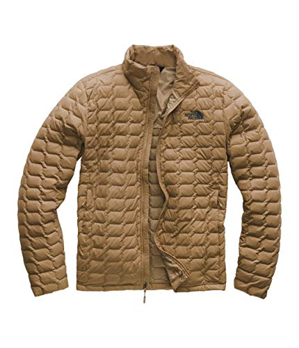 Logo Print Khaki - The North Face Men's Thermoball Jacket Cargo Khaki Medium