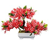 Zhuhaitf Artificial flowers Plant Bonsai Tree for Living Room indoor Decoration