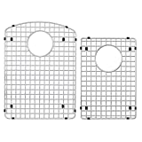 Transolid TSGADD Stainless Steel Sink Grid Set for ATDD3322 and AUDD3120 Transolid Granite Kitchen Sinks