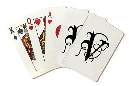 Amazon.com: Monograma – Carta V – dibujo a mano estilo ...