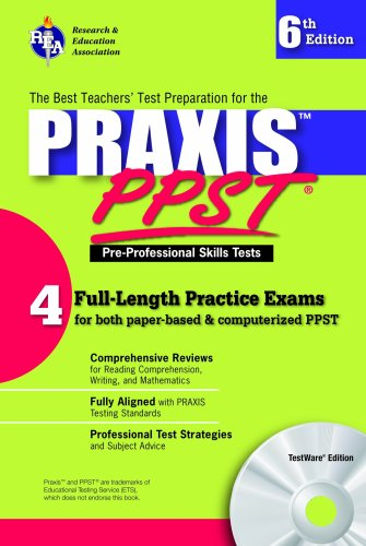 computerized pre professional skills test Buy how to prepare for the pre-professional skills--ppst test (barron's how to prepare for the ppst and computerized ppst pre-professional skills test) by robert d postman (isbn: 9780764114434) from amazon's book store.