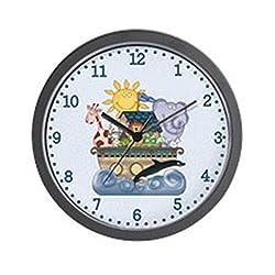 CafePress Noah's Ark (Blue) Unique Decorative 10 Wall Clock