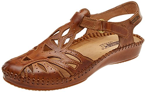 Pikolinos Women's P. Vallarta 655 Closed Toe Sandals Brown (Brandy) free shipping new arrival clearance affordable with paypal cheap online footlocker pictures cheap price tM7tu4Zk