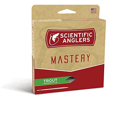 Scientific Anglers Trout Taper- Dry Tip Tech W/ Loop - Optic Green / Green, WF- 4-F ()