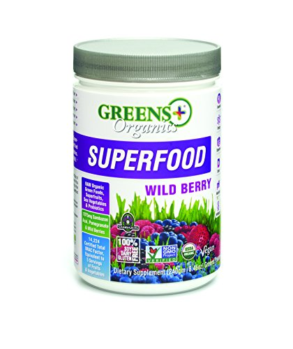 Greens Plus Organics Super Food Supplement