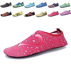 Men Women Mutifunctional Barefoot Flexible Quick Dry Water Skin Shoes Lightweight Aqua Socks XL