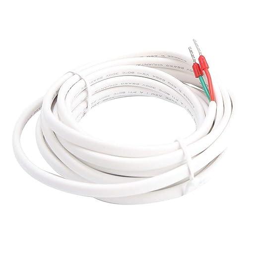 FTVOGUE Sonda de Sensor de termostato de 3 Metros Cable de Sensor de Temperatura de calefacción por Suelo Radiante
