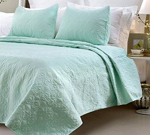queen size quilt and shams - 8